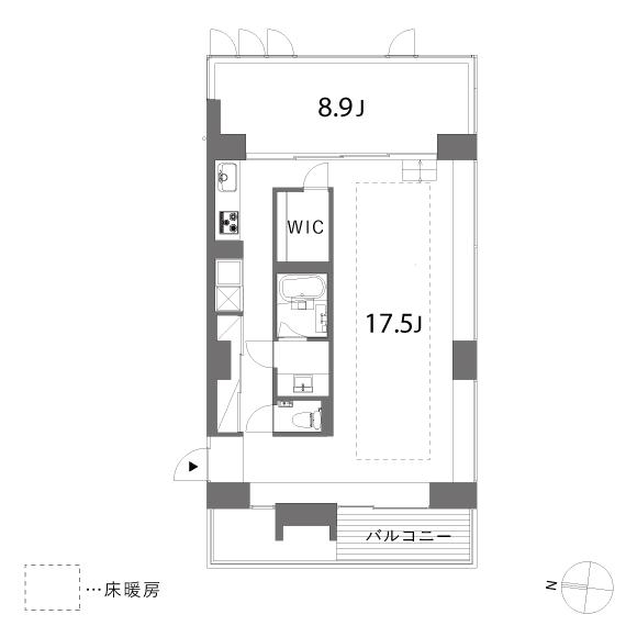 (仮称)清澄白河プロジェクト_D.E