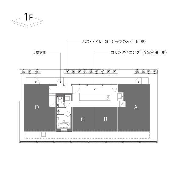 タケイハウス_1F配置図