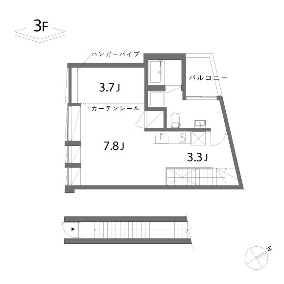 (仮称)Umenoki-terrace_D(4階)