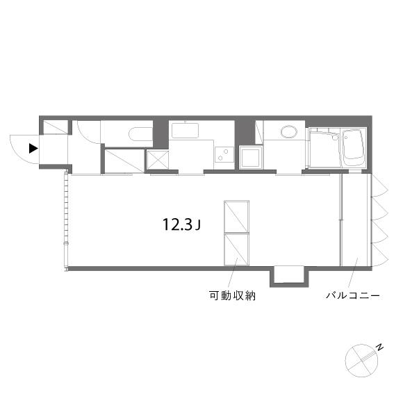 ウノキアパートメント_102