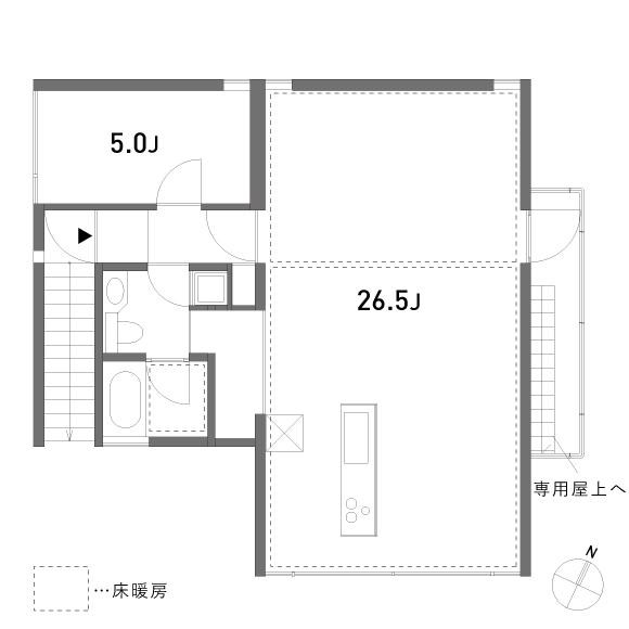 東伏見の家_2F