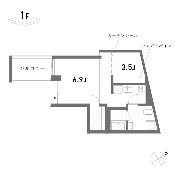 (仮称)Umenoki-terrace_B(2階)
